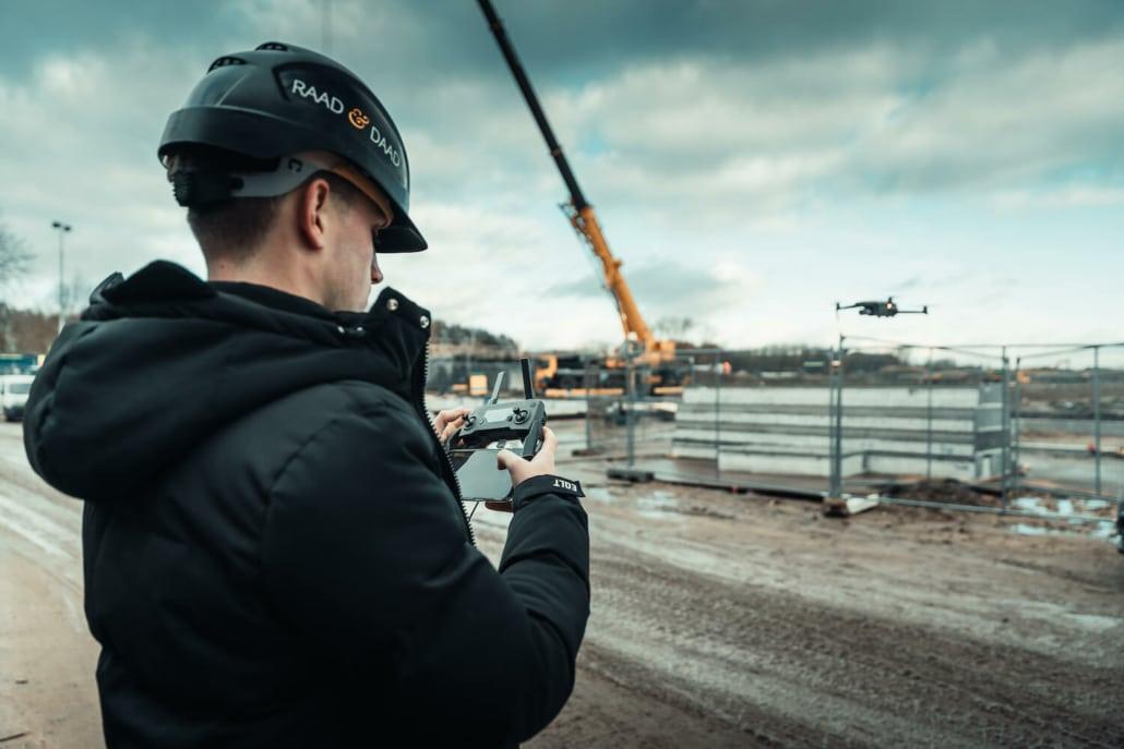 Video productie drone
