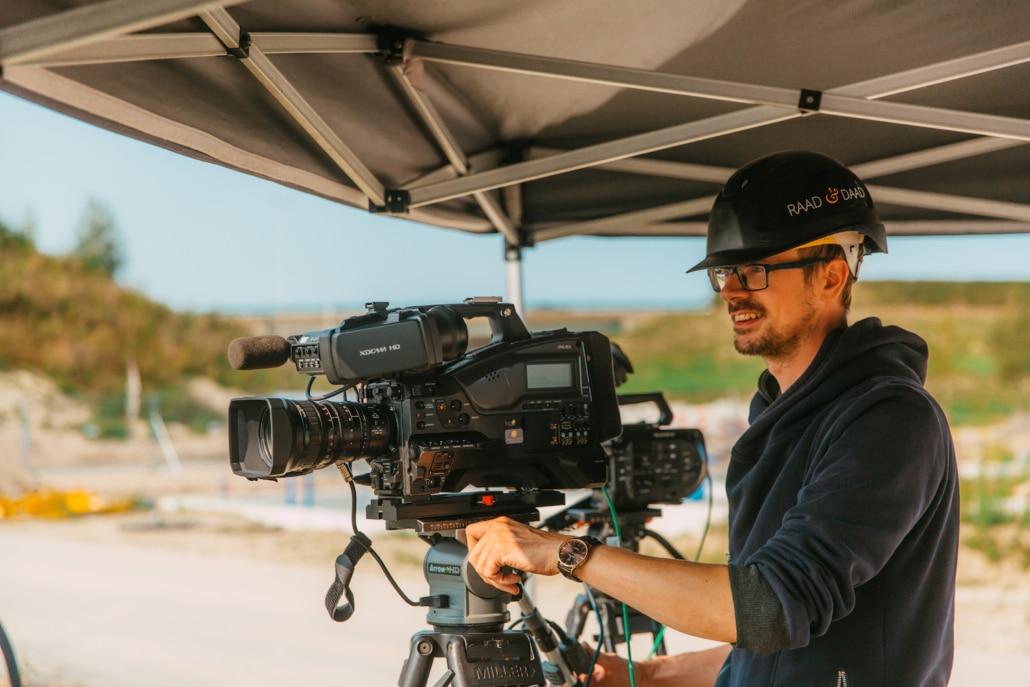 Projectfilm cameraman